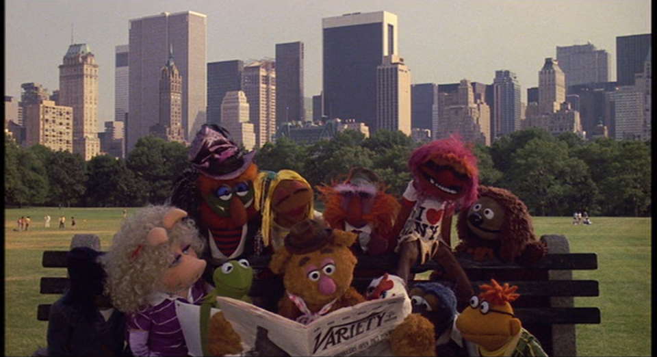 The-Muppets-Take-Manhattan-Still-Group-Bench