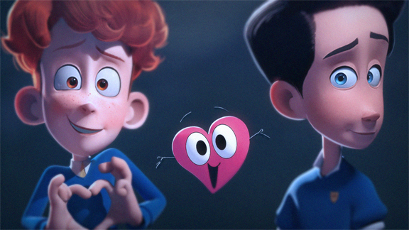 In a Heartbeat character renders