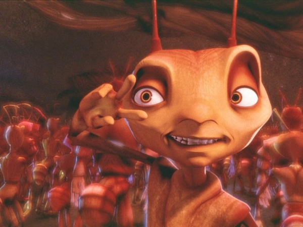 Z, the protagonist of DreamWorks' Antz