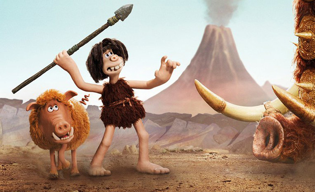 Aardman's Early Man Trailer & Poster: Stone Age vs. Bronze Age