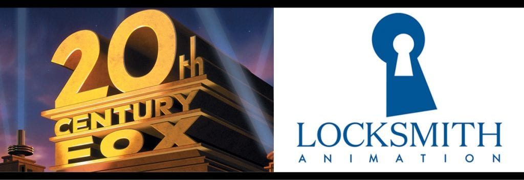 20th Century Fox and Locksmith Animation logos