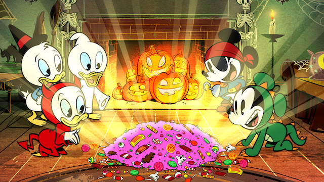 Mickey Mouse - The Scariest Story Ever: A Mickey Mouse Halloween Spooktacular!