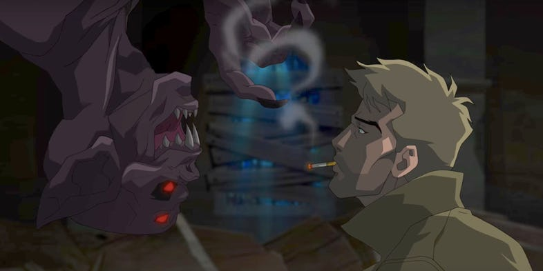 Constantine CW Seed Animated Series