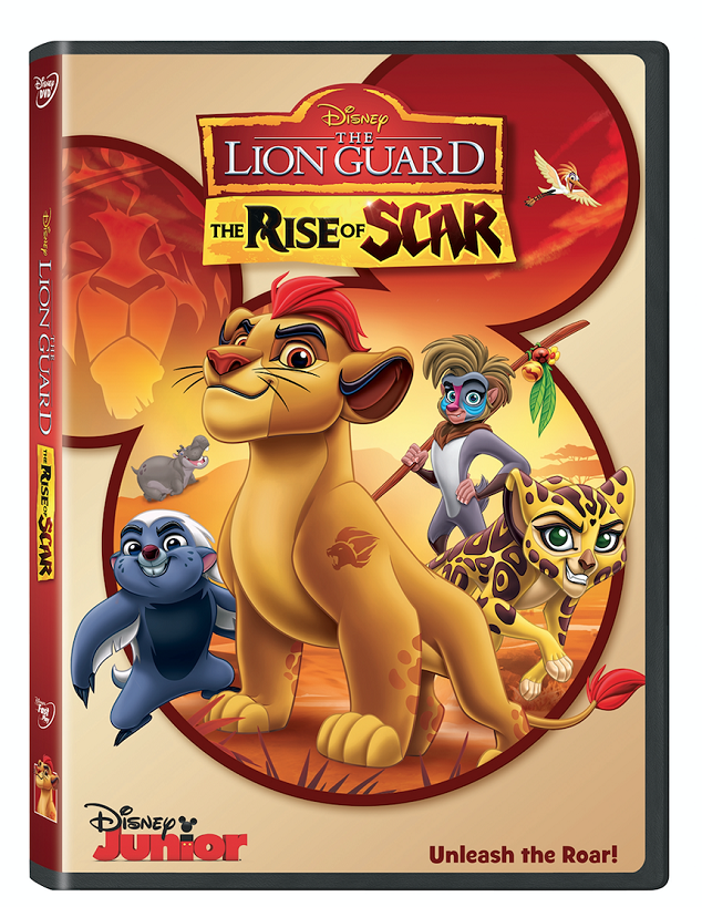 Disney-The-Lion-Guard-Rise-of-Scar-DVD