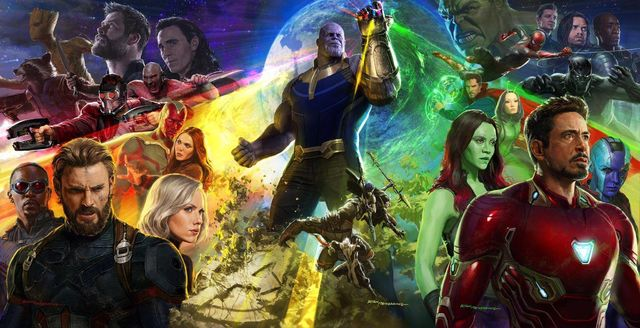 Infinity War Poster from SDCC 2017