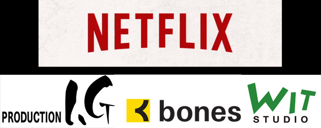 Netflix partners with anime studios