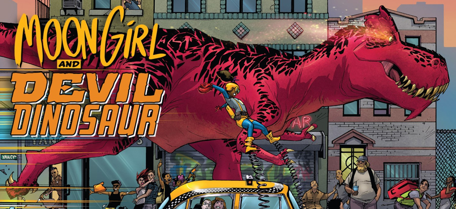 Marvel's Moon Girl and Devil Dinosaur