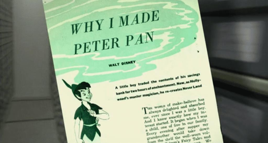 Walt-Disney-Why-I-Made-Peter-Pan