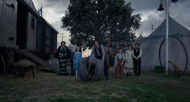 Still from live-action Dumbo teaser trailer
