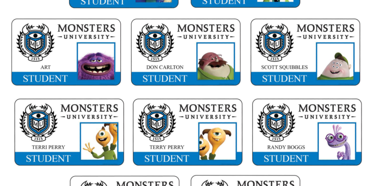 Update Meet The Monsters University Students Faculty Rotoscopers