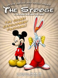 Mickey-Mouse-roger-Rabbit-The-Stooge-poster-disney