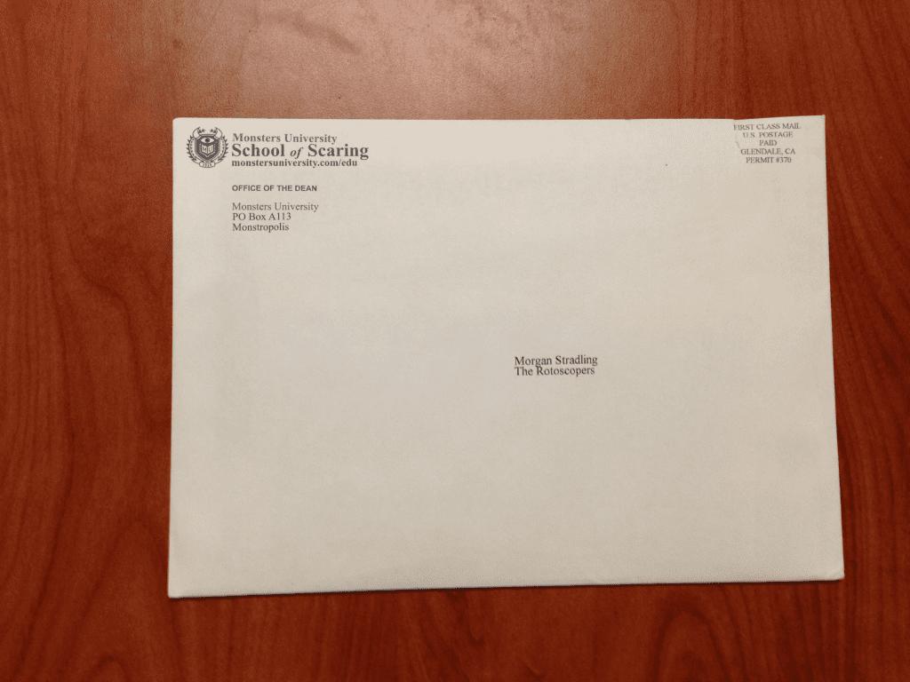 Monsters-University-Alumni-Letter-Envelope-Press