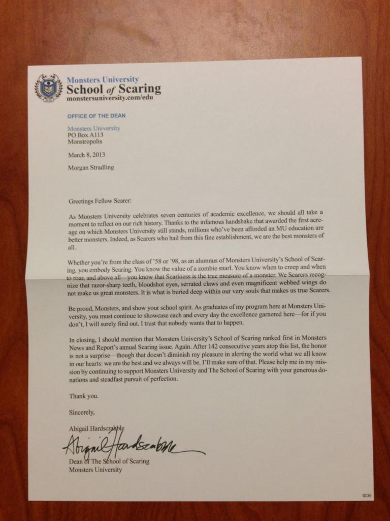 Monsters-University-Alumni-Letter-Press