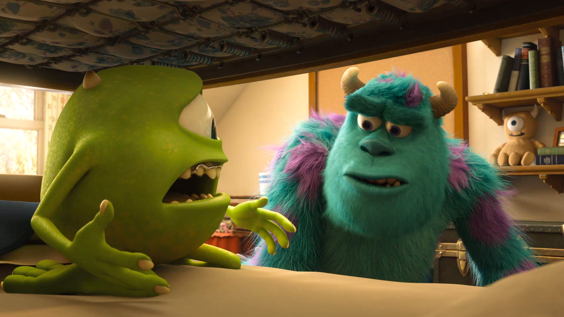 Watch A New Clip From Monsters University Rotoscopers