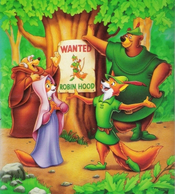 Disney S Voice Acting Veterans In Robin Hood Rotoscopers