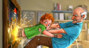 Art-Story-Walt-Grandpa-painting