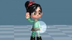 Disney-Animated-iPad-App-Vanellope