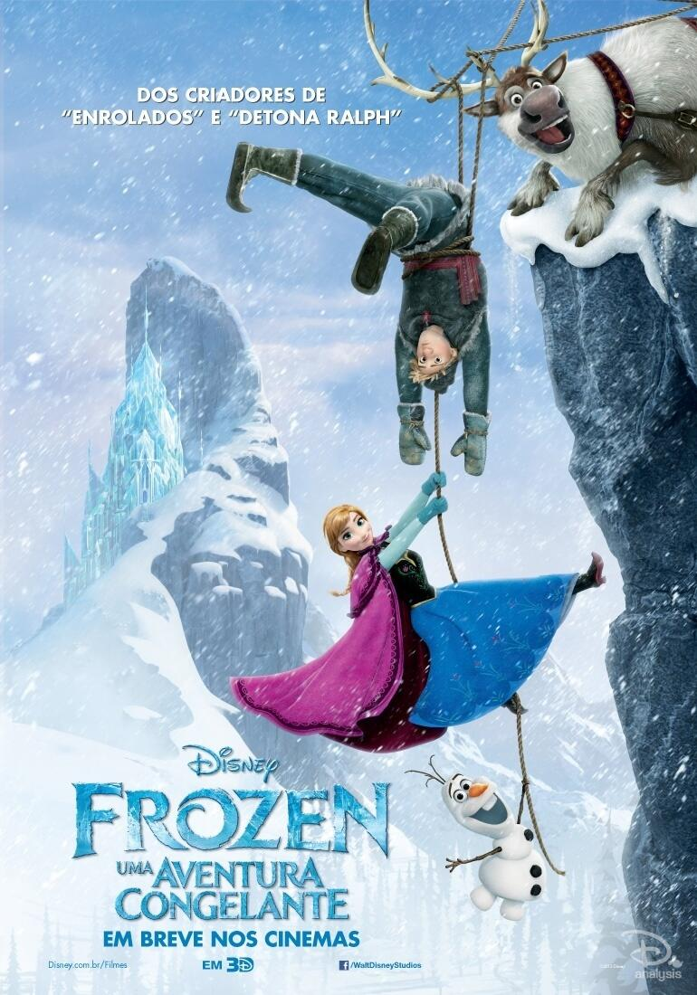 Collection Of Brand New International Frozen Posters