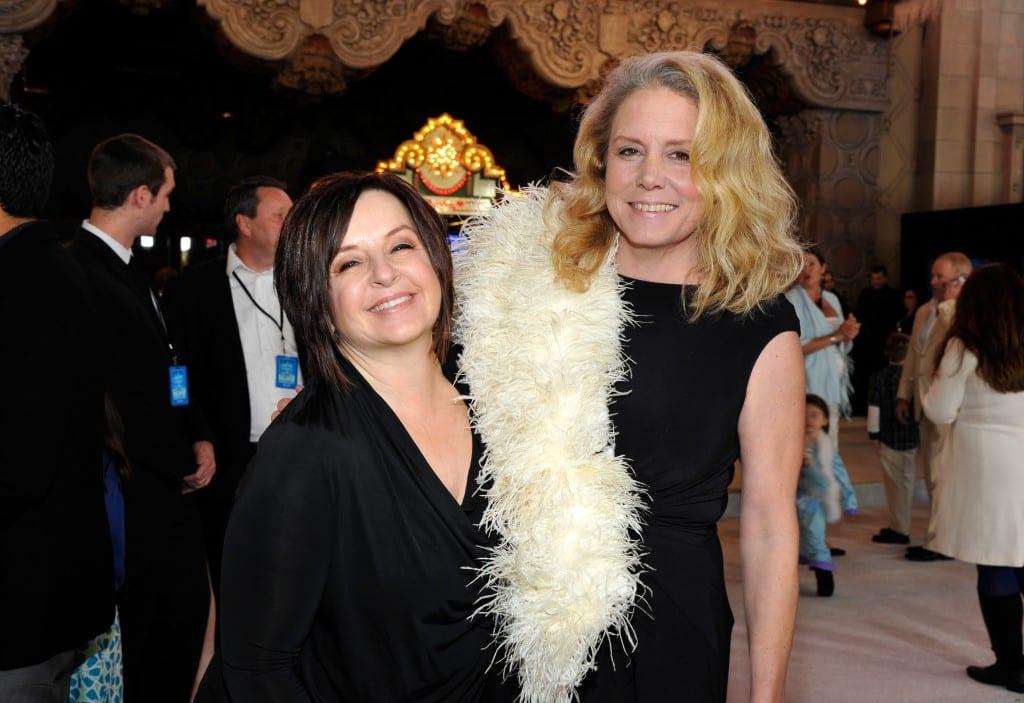 "The World Premiere Of Walt Disney Animation Studios' ""Frozen"" - Red Carpet - Lauren MacMullan dorothy mckim"