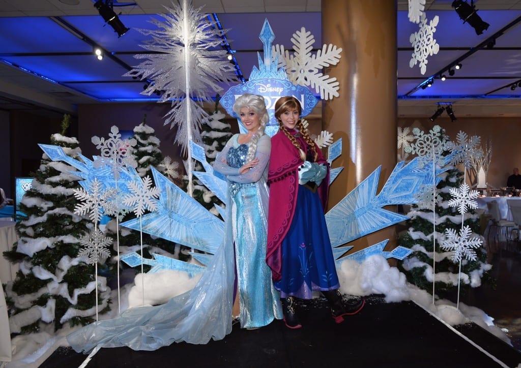 "The World Premiere Of Walt Disney Animation Studios' ""Frozen"" - After Party - anna elsa"