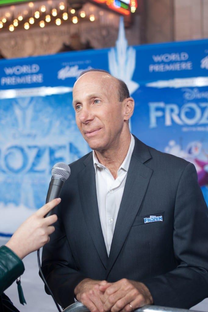 Frozen Premiere-michael-giaimo- art director