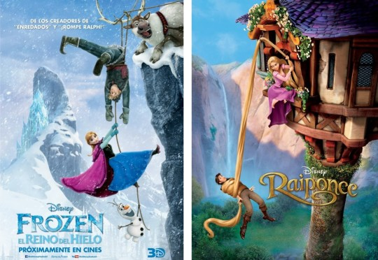 Both of these foreign posters are quite similar.