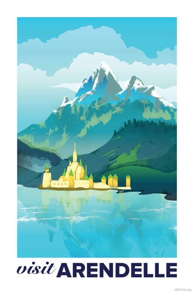 visit-arendelle-vintage-travel-poster-frozen