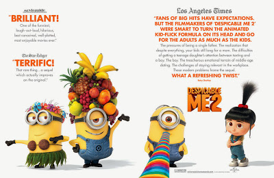 Despicable Me 2 for your consideration poster