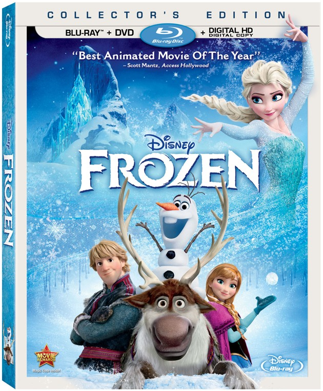e0e2b373b45c Frozen  Blu-ray DVD Collector s Edition Review  Extraordinary Film ...