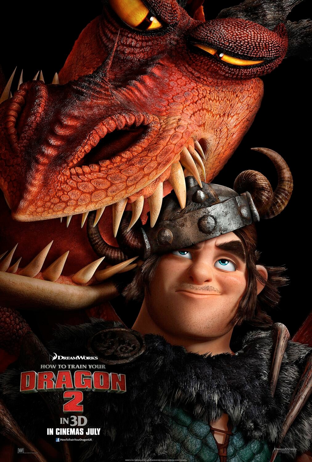 Check out snotlouts stache in new how to train your dragon 2 httyd2 snotlout poster ccuart Gallery