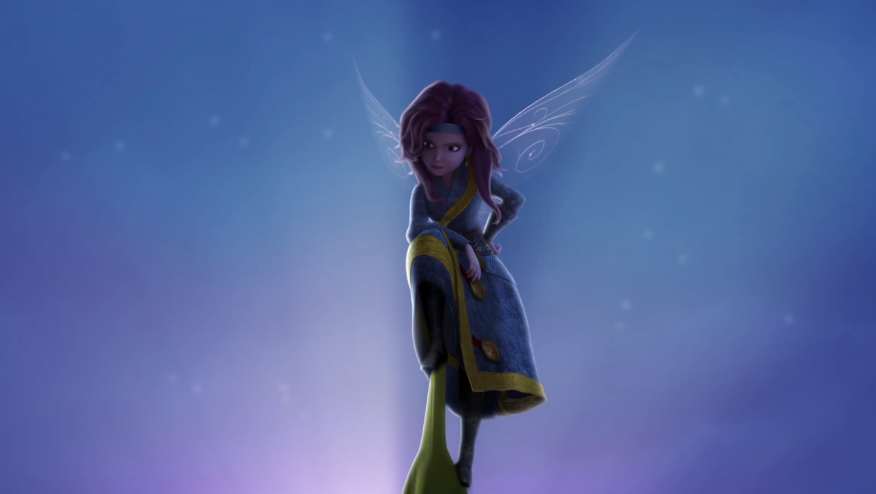 Tinker bell and the pirate fairy zarina consider