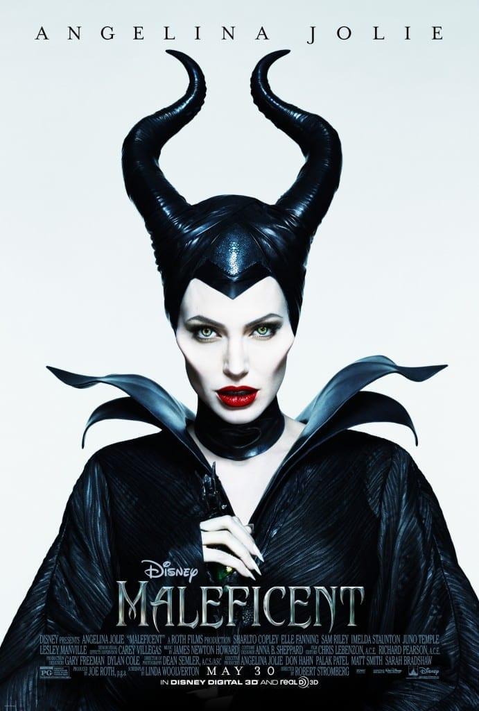 Maleficent Green Eyes