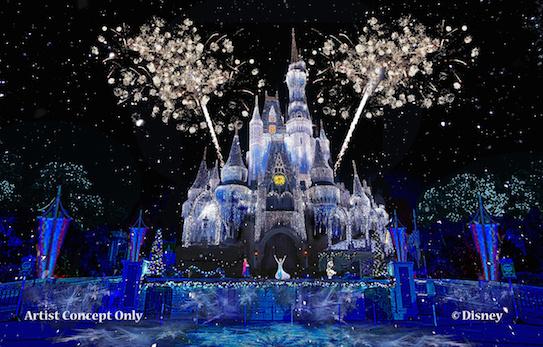Elsa- at-Cinderella-Castle
