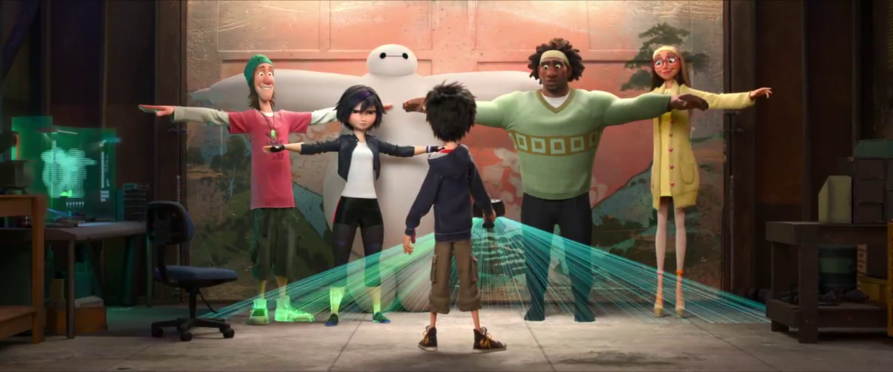 Big Hero 6' Collector's Edition Blu-ray DVD Review   Rotoscopers
