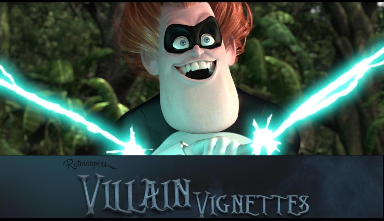 Villain Vignettes 7 Syndrome Rotoscopers