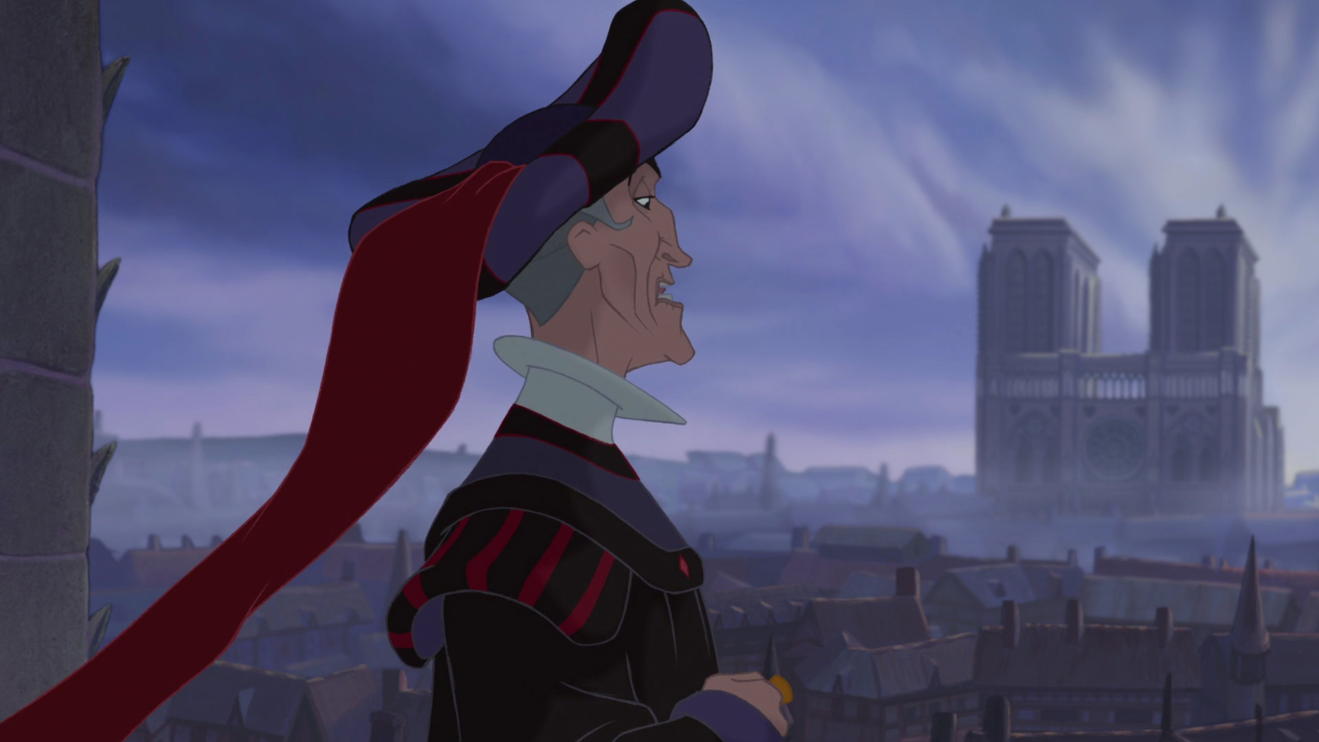 Villain Vignettes 3 Judge Claude Frollo Rotoscopers