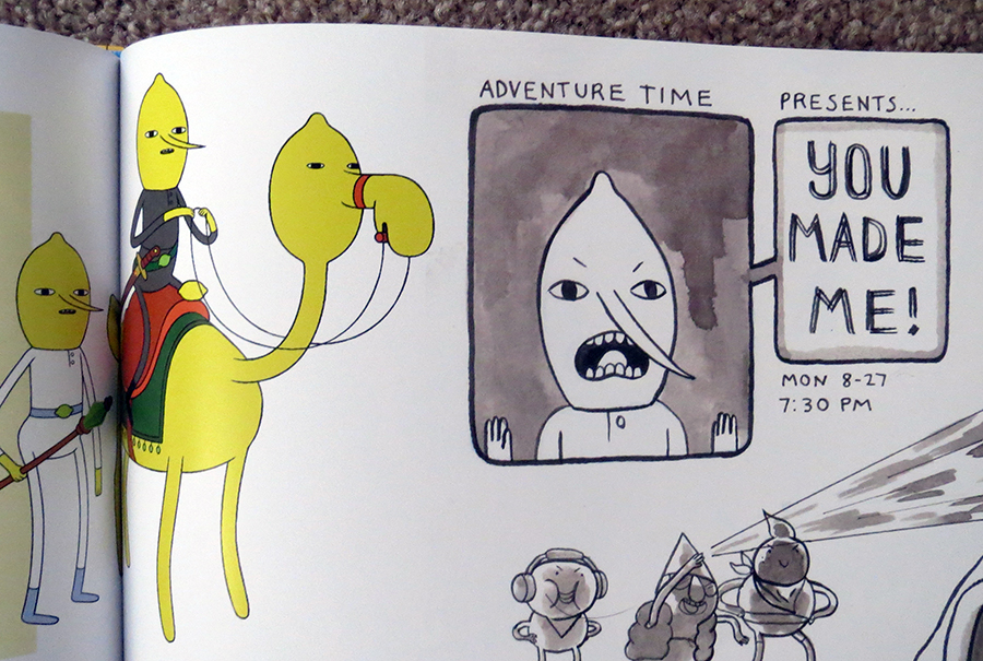 Art Book Review Adventure Time The Art Of Ooo Rotoscopers