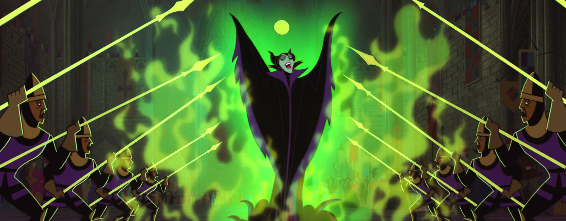 Villain Vignettes 11 Maleficent Rotoscopers