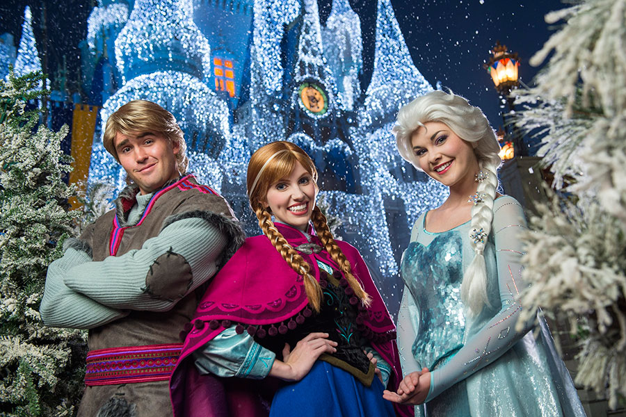 frozen holiday wish magic kingdom