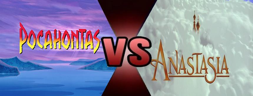 Pocahontas vs. Anastasia