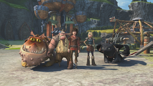dragon riders of berk race to the edge season 3