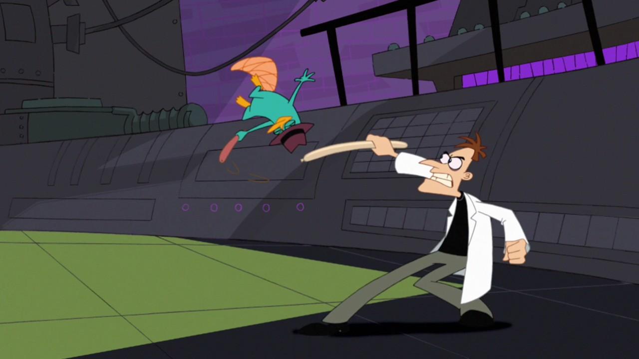 Phineas And Ferb Dr Doofenshmirtz Building Dream It, Do It...