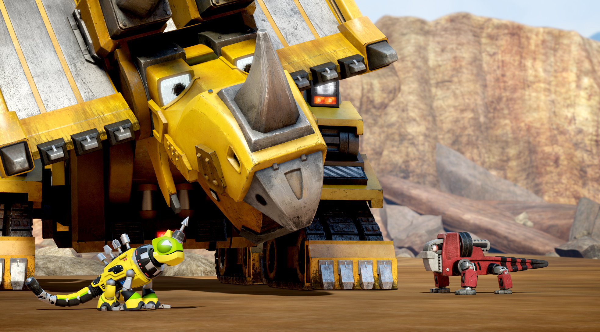 Exclusive Look Dreamworks Dinotrux Rotoscopers