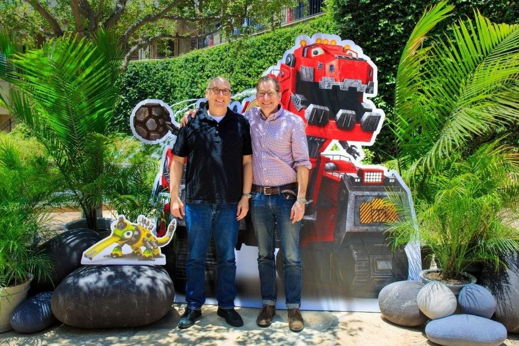 Executive Producers Ron Burch and David Kidd. (c) DreamWorks Animation