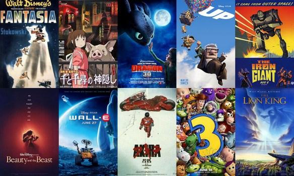 Disney anime movie