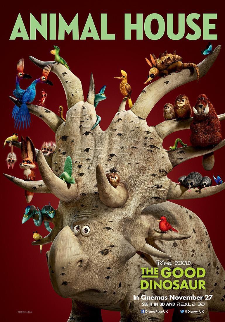 three new international the good dinosaur posters released