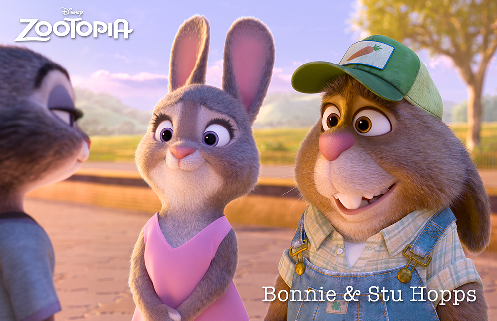 Bonnie-and-Stu-Hopps-in-Zootopia