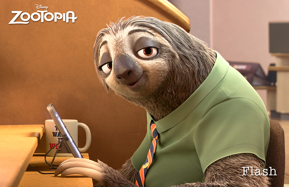 Flash-in-Zootopia