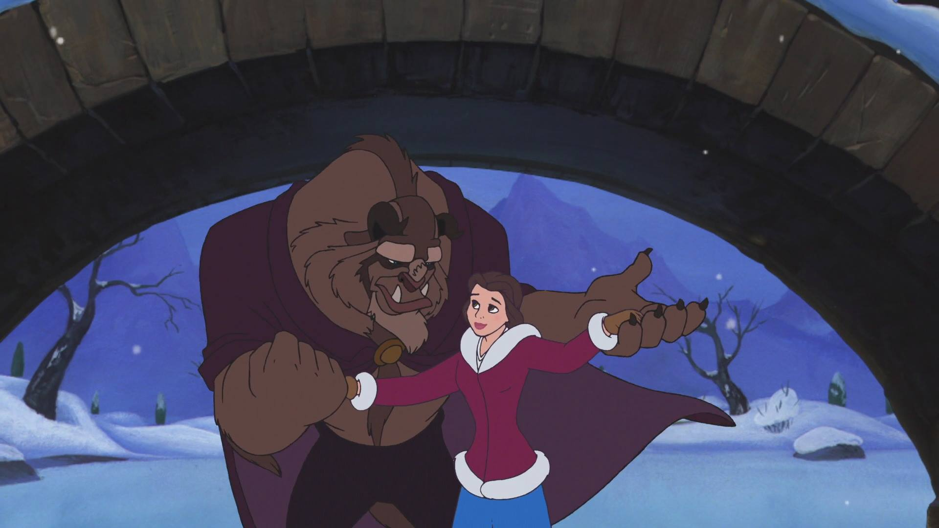 Beauty And The Beast Christmas.Rotoscopers 12 Days Of Christmas Beauty And The Beast