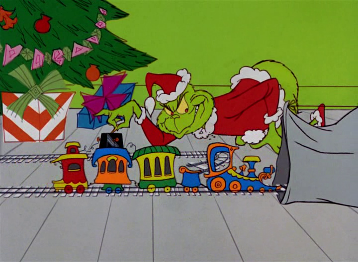 How The Grinch Stole Christmas Movie Characters.Rotoscopers 12 Days Of Christmas Dr Seuss How The Grinch